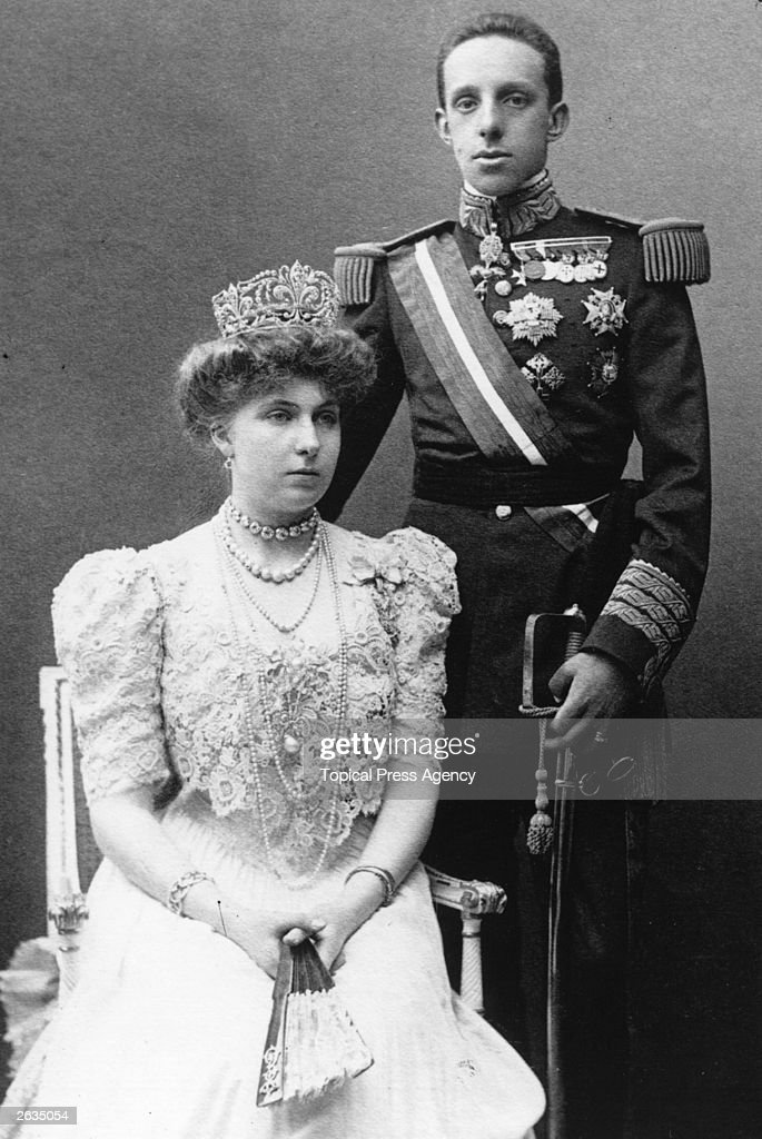 Alfonso XIII Of Spain : News Photo