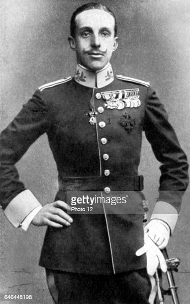 Alfonso XIII King of Spain, posthumous son of Alfonso XII. Refused to abdicate when elections returned overwhelming vote for a republic. Died in...