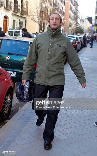 Alfonso Zurita attends his mother Princess Margarita's 76th birthday on March 06 2015 in Madrid Spain