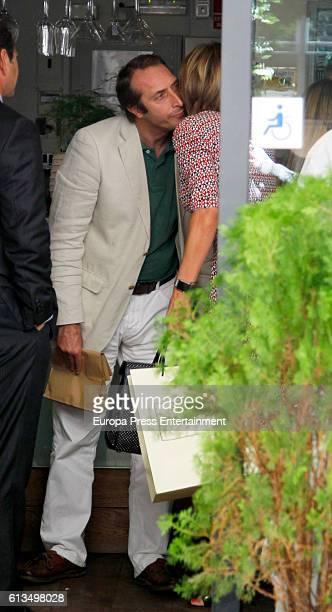 Alfonso Zurita attends Maria Zurita's 41th birthday on September 15 2016 in Madrid Spain