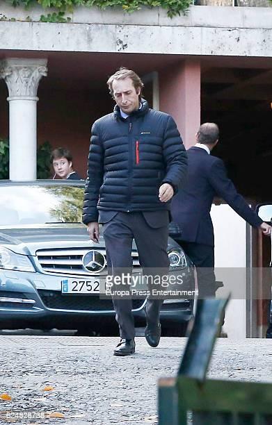 Alfonso Zurita attends the christening of Nicolas GomezAcebo son of Fernando GomezAcebo and Nadia Halamandari on November 19 2016 in Madrid Spain