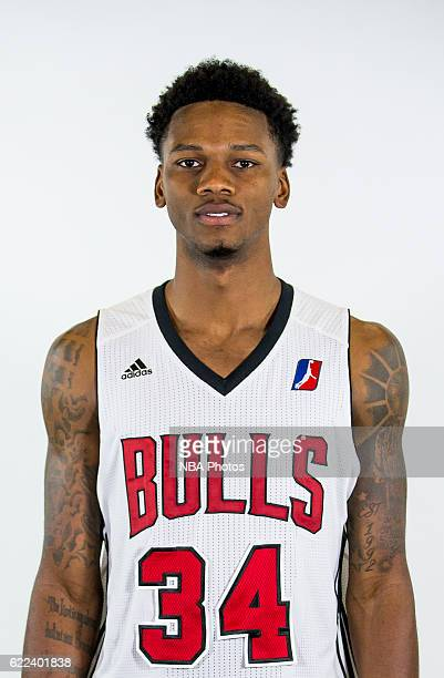 Alfonzo McKinnie of the Windy City Bulls poses for a head shot during the NBA DLeague media day on November 9 2016 in Chicago Illinois NOTE TO USER...
