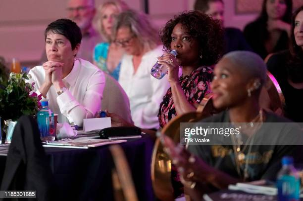 Alfre Woodard and Cynthia Erivo attend FIJI Water at Newport Beach Film Festival Fall Honors and Variety's 10 Actors to watch on November 03, 2019 in...
