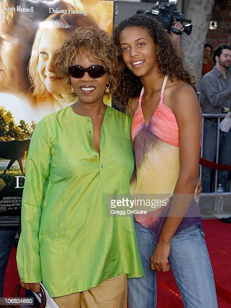 Alfre Woodard and daughter Mavis during DreamWorks Pictures' 'Dreamer Inspired by a True Story' Los Angeles Premiere Arrivals at Mann Village Theatre...