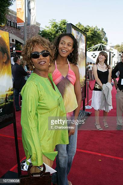 Alfre Woodard and daughter Mavis during DreamWorks Pictures' 'Dreamer Inspired by a True Story' Los Angeles Premiere Red Carpet at Mann Village...