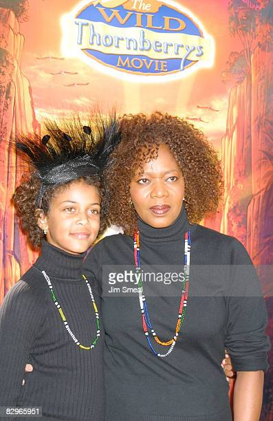 Alfre Woodard and daughter Mavis Spencer