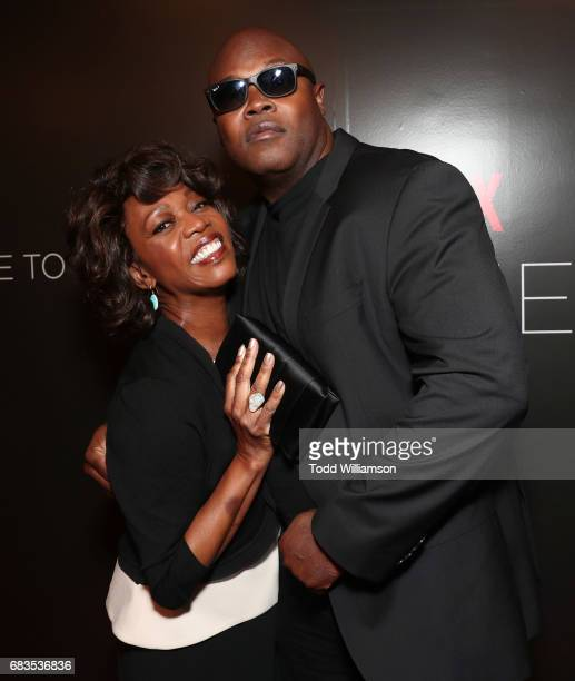 Alfre Woodard and executive producer creator and showrunner Cheo Hodari Cokerattend Netflix's Marvel's Luke Cage FYC Event at Netflix FYSee Space on...