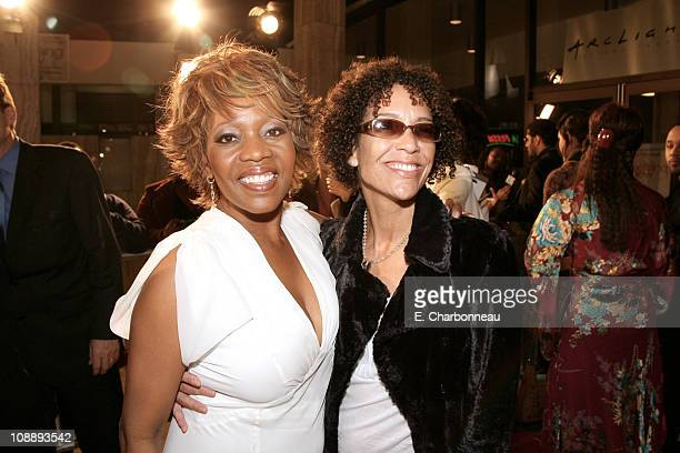 "Alfre Woodard and Producer Stephanie Allain during Los Angeles Premiere of Focus Features' ""Something New"" at Cinerama Dome / Cabanna Club in..."