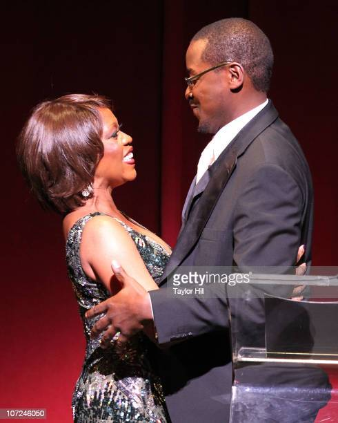 Alfre Woodard and Robert Battle attend the Alvin Ailey American Dance Theater opening night gala benefit at the Hilton New York on December 1 2010 in...