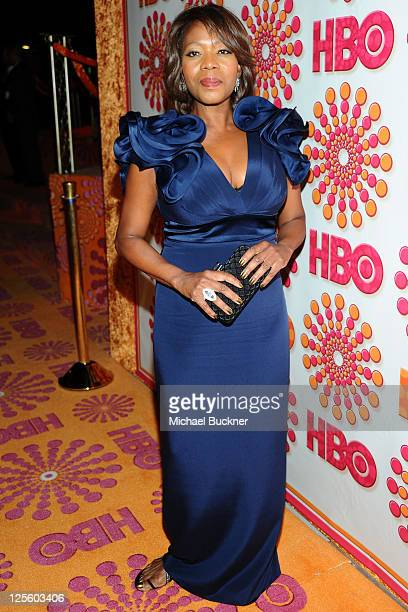 Alfre Woodard arrives at HBO's Annual Emmy Awards Post Award Reception Arrivals on September 18 2011 in Los Angeles California