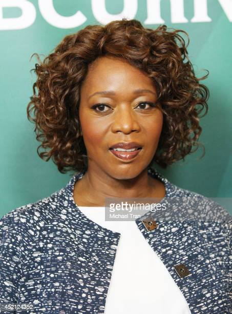 Alfre Woodard arrives at NBCUniversal's 2014 Summer TCA Tour Day 1 held at The Beverly Hilton Hotel on July 13 2014 in Beverly Hills California
