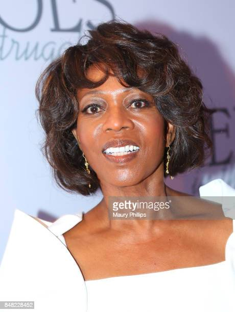 Alfre Woodard arrives at the 16th Annual Heroes In The Struggle gala reception and awards presentation at 20th Century Fox on September 16 2017 in...