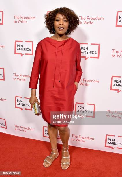 Alfre Woodard arrives at the PEN America 2018 LitFest Gala at the Beverly Wilshire Four Seasons Hotel on November 2 2018 in Beverly Hills California