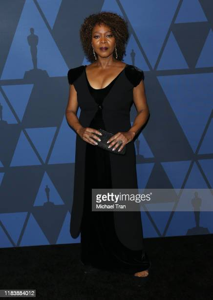 Alfre Woodard arrives to the Academy of Motion Picture Arts and Sciences' 11th Annual Governors Awards held at The Ray Dolby Ballroom at Hollywood...
