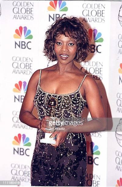 Alfre Woodard at the 1998 Golden Globe Awards in Los Angeles