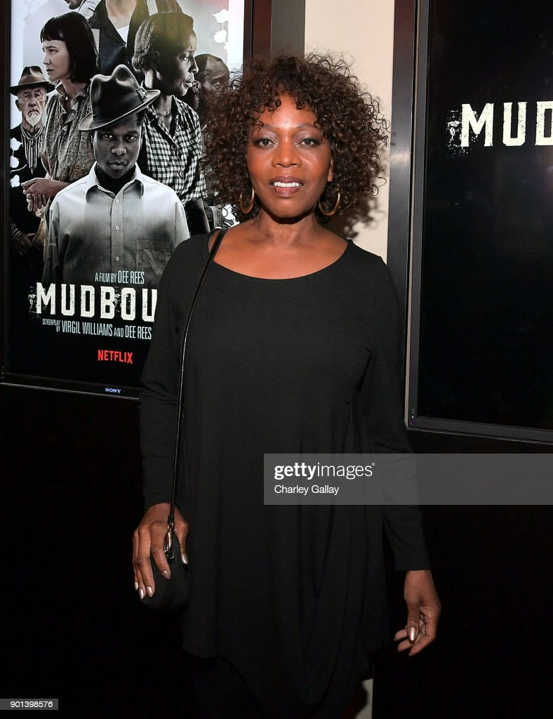 Alfre Woodard attends a special screening of MUDBOUND hosted by Alfre Woodard on January 4, 2018 in West Hollywood, California.