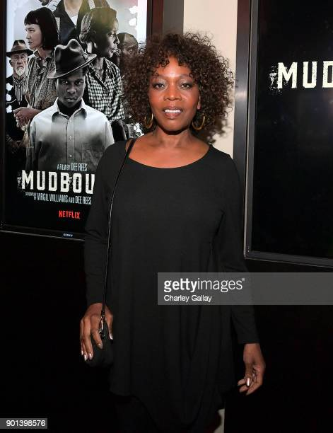 Alfre Woodard attends a special screening of MUDBOUND hosted by Alfre Woodard on January 4 2018 in West Hollywood California