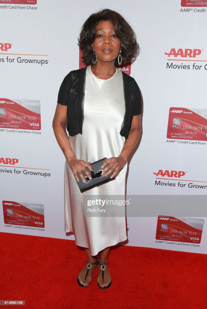 Alfre Woodard attends AARP's 17th Annual Movies For Grownups Awards at the Beverly Wilshire Four Seasons Hotel on February 5, 2018 in Beverly Hills, California.