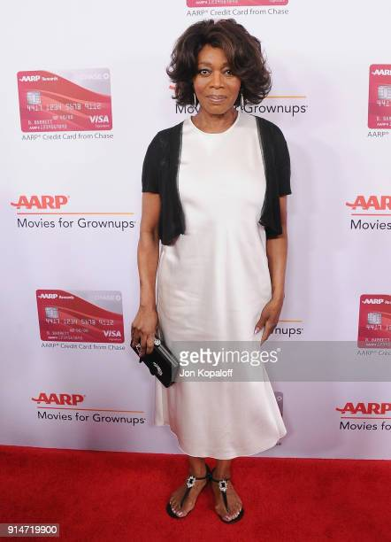 Alfre Woodard attends AARP's 17th Annual Movies For Grownups Awards at the Beverly Wilshire Four Seasons Hotel on February 5 2018 in Beverly Hills...