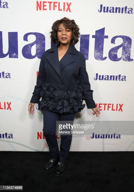 Alfre Woodard attends 'Juanita' Special Screening on March 07 2019 in New York City