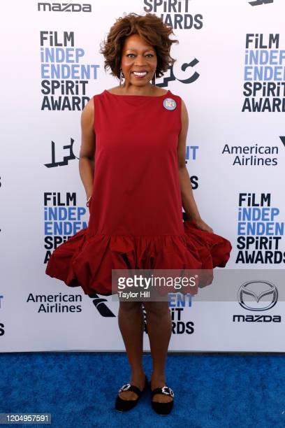 Alfre Woodard attends the 2020 Film Independent Spirit Awards at Santa Monica Pier on February 08, 2020 in Santa Monica, California.