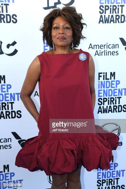 Alfre Woodard attends the 2020 Film Independent Spirit Awards on February 08, 2020 in Santa Monica, California.