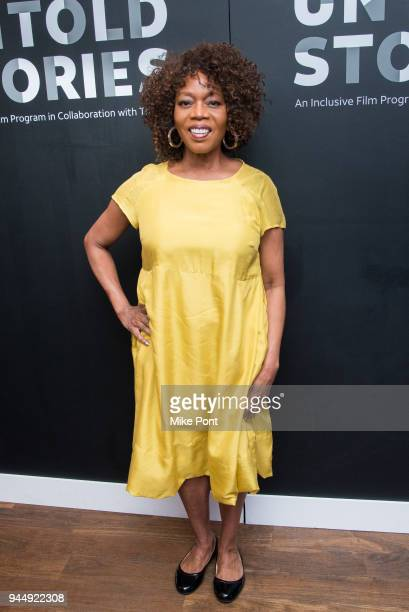 Alfre Woodard attends the 2nd Annual ATT Presents Untold Stories An Inclusive Film Program In Collaboration With Tribeca at Thalassa on April 11 2018...