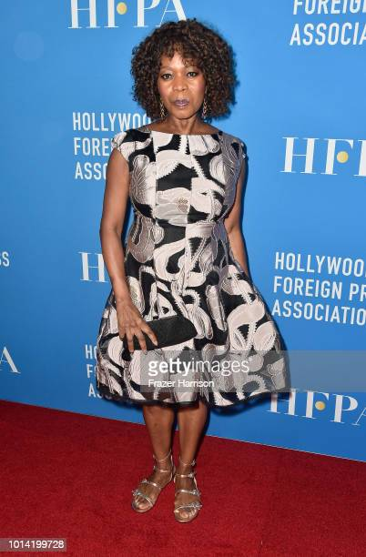 Alfre Woodard attends the Hollywood Foreign Press Association's Grants Banquet at The Beverly Hilton Hotel on August 9 2018 in Beverly Hills...