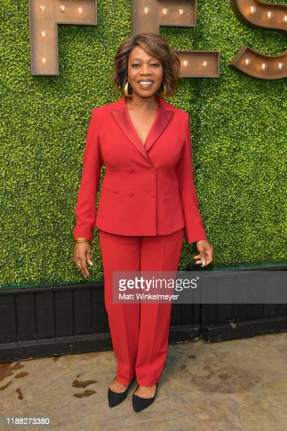 Alfre Woodard attends the 'Indie Contenders Roundtable' presented by The Hollywood Reporter at AFI FEST 2019 presented by Audi at TCL at Hollywood...