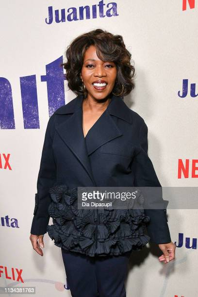 Alfre Woodard attends the 'Juanita' New York screening at Metrograph on March 07 2019 in New York City