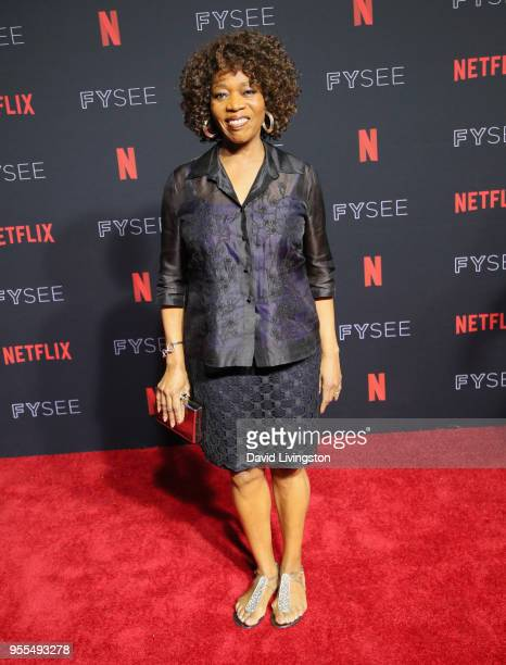Alfre Woodard attends the Netflix FYSEE KickOff at Netflix FYSEE At Raleigh Studios on May 6 2018 in Los Angeles California