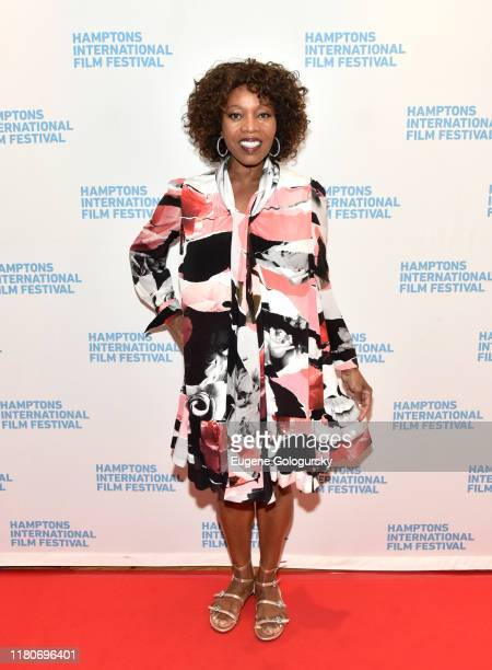 """Alfre Woodard attends the photo call for """"Clemency"""" Screening during the 2019 Hamptons International Film Festival on October 12, 2019 in East..."""
