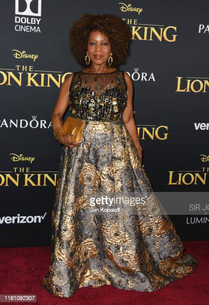 """Alfre Woodard attends the Premiere Of Disney's """"The Lion King"""" at Dolby Theatre on July 09, 2019 in Hollywood, California."""