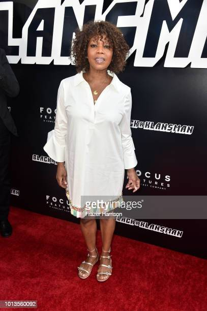 Alfre Woodard attends the Premiere Of Focus Features' BlacKkKlansman at Samuel Goldwyn Theater on August 8 2018 in Beverly Hills California
