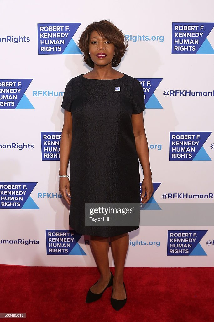 Alfre Woodard attends the Robert F. Kennedy Human Rights 2015 Ripple Of Hope Awards at New York Hilton Midtown on December 8, 2015 in New York City.