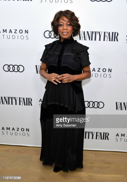 Alfre Woodard attends The Vanity Fair x Amazon Studios 2020 Awards Season Celebration at San Vicente Bungalows on January 04 2020 in West Hollywood...