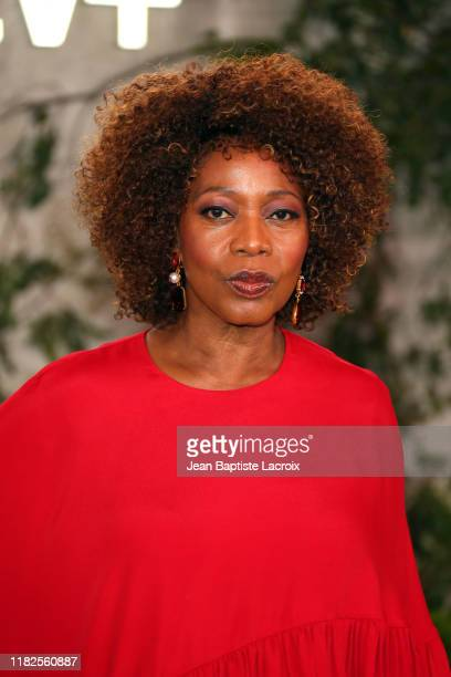 """Alfre Woodard attends the world premiere of Apple TV+'s """"See"""" at Fox Village Theater on October 21, 2019 in Los Angeles, California."""