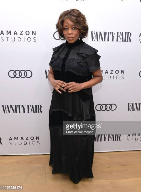 Alfre Woodard attends Vanity Fair Amazon Studios and Audi Celebrate The 2020 Awards Season at San Vicente Bungalows on January 04 2020 in West...