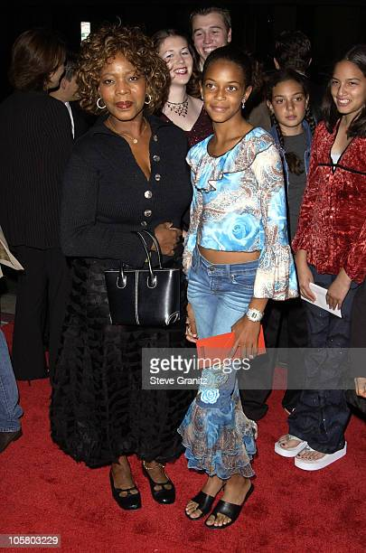 Alfre Woodard Daughter during 'Radio' Premiere Arrivals at Academy Theatre in Beverly Hills California United States