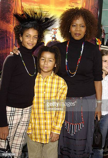Alfre Woodard daughter Mavis Spencer and son