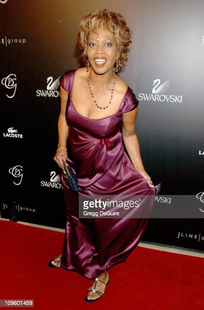 Alfre Woodard during 8th Annual Costume Designers Guild Awards Gala Arrivals at Beverly Hilton Hotel in Beverly Hills California United States