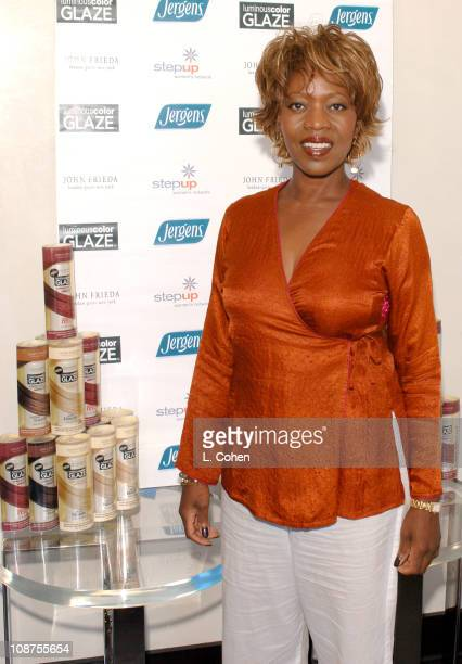 Alfre Woodard during John Frieda Luminous Color Glaze Pre-Emmy Suite at Roosevelt Hotel in Hollywood, California, United States.
