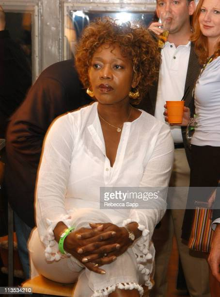 Alfre Woodard during The Creative Coalition Benefit Gala for the First Amendment featuring The Red Hot Chili Peppers sponsored by Stoli and Kahlua at...