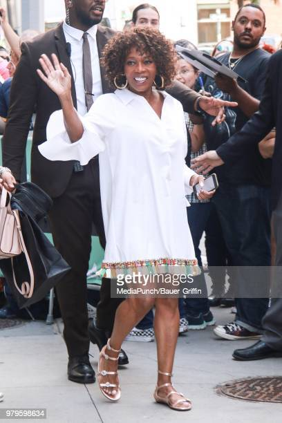 Alfre Woodard is seen on June 20 2018 in New York City
