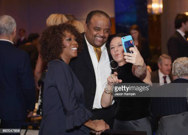 Alfre Woodard Roland Martin and Maria Hinojosa attend Robert F Kennedy Human Rights Hosts Annual Ripple Of Hope Awards Dinner on December 13 2017 in...