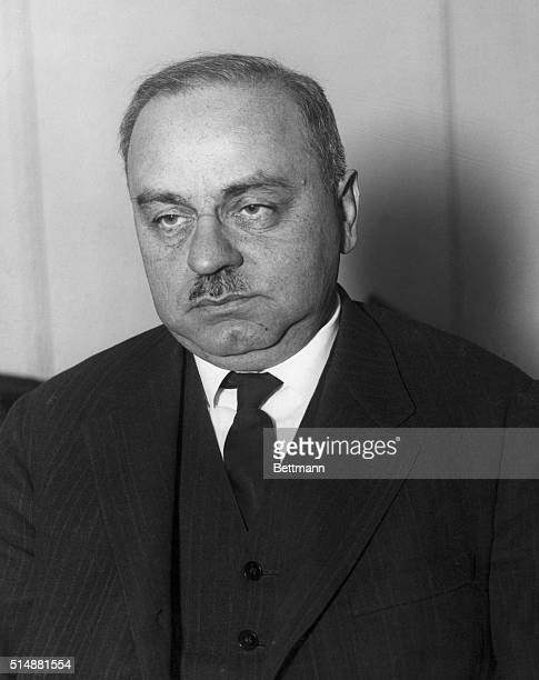 Alfred Adler Head and Shoulders portrait ca 1920 Viennese Psychiatrist