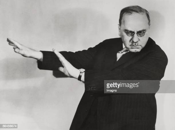 Alfred Adler in Boston USA Photography About 1935 [Alfred Adler in Boston USA Photographie Um 1935]