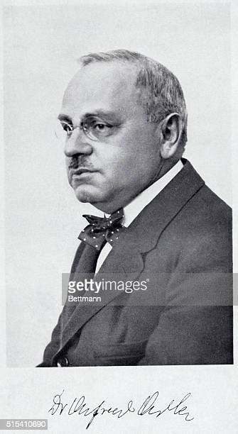 Alfred Adler Viennese Psychiatrist author of Theory and Practice of Individual Psychology