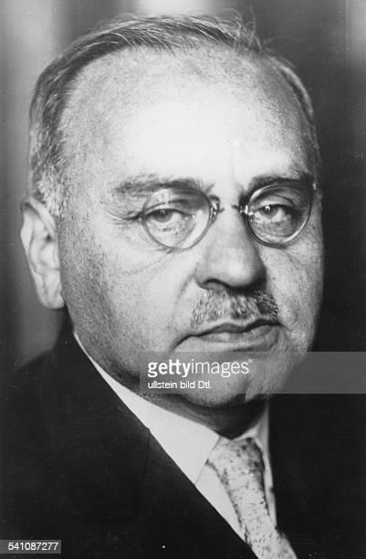 Alfred Adler*07021870Arzt Psychotherapeut Wissenschaftler Psychologe Österreich Porträt undatiert
