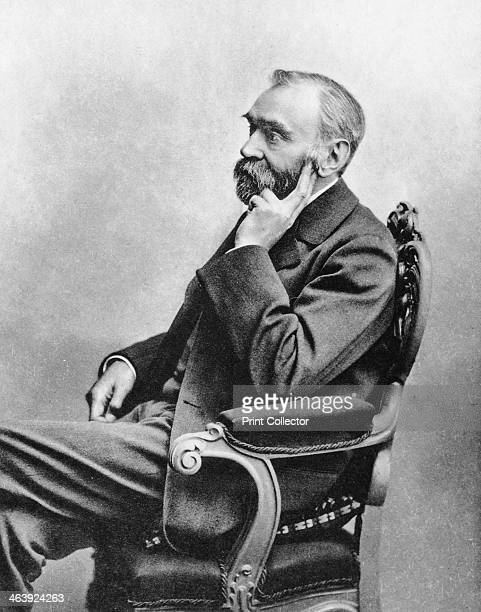 Alfred Bernhard Nobel c1880s In 1866 Swedish chemist and industrialist Nobel invented a safe and manageable form of nitroglycerin he called dynamite...